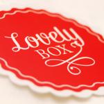 La lovely box : de la papeterie créative tous les mois dans votre boîte aux lettres