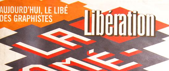 Les graphistes aux commandes du journal Libération