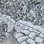 La fresque BD de Joe Sacco à Montparnasse en hommage à la bataille de la Somme